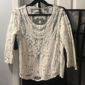 H&M women's Divided by H&M lace top